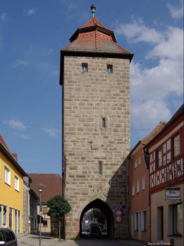 Mittelalterlicher Stadtturm