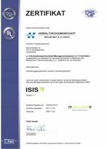 Zertifikat ISIS 12
